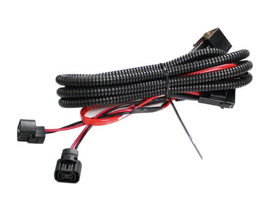 5202 H16 Fog Lights Relay 01 5202 p13w adapter fog lights relay wiring harness for chevy dodge Chevy Silverado Evap System at gsmx.co