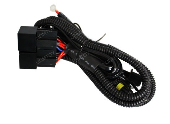 dual-relay wiring harness for H13 (9008) HID Conversion Kit