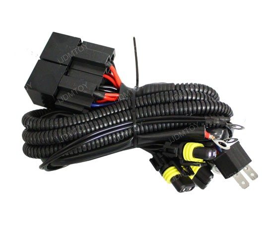 H4 01 hid conversion kit dual relay wiring harness for h4 h13 9004  at reclaimingppi.co