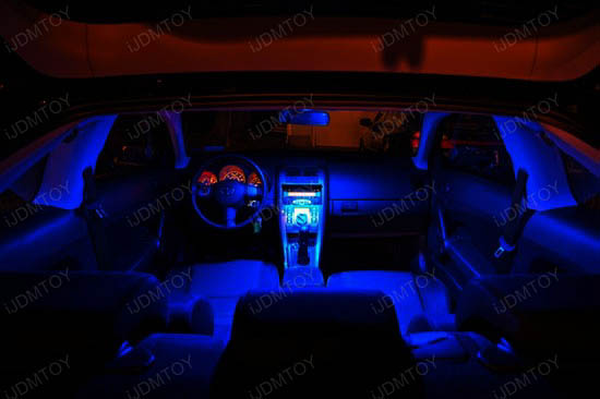Delightful IJDMTOY LED Interior Lights Package Deal