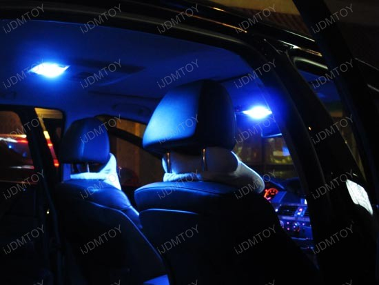 Premium smd led interior lights package for honda accord for Led lighting for cars interior