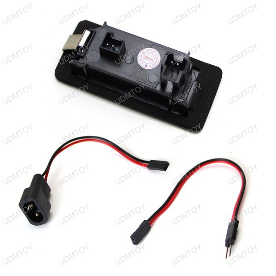 OBC Error Free LED License Plate Light BMW