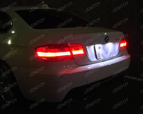 OBC Error Free LED License Plate Light BMW 3 Series