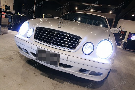 Error Free BA9s 64132 H6W LED Bulbs Mercedes Benz