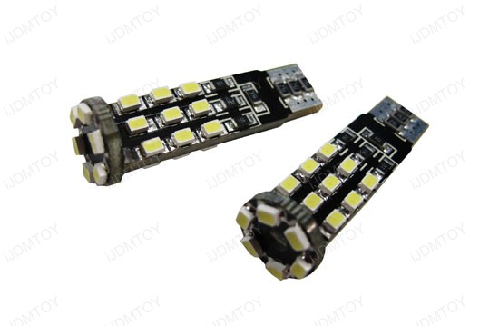 Error Free T10 2825 W5W LED Bulbs