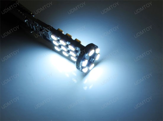 Error Free 24-SMD T10 2825 W5W LED Bulbs