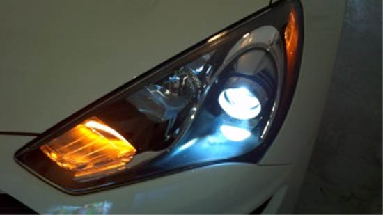 2  h7 hid xenon bulbs adapters holders for hyundai