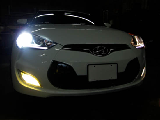 Hyundai Veloster Or Genesis Coupe H7 Hid Bulb Adapters Holders