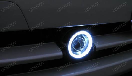Projector Fog Lights with LED Halo Rings