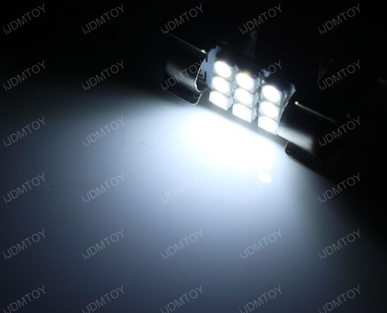 "1.25"" DE3175 LED Festoon Light Bulbs"