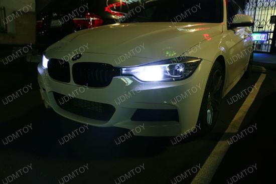 Error Free PW24W LED Bulbs For BMW F30 3 Series Daytime Running Lights