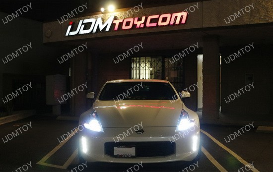 Nissan 370Z LED Daytime Running Light Night Time Enable Kit