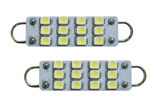 Rigid Loop 43mm 211-2 578 LED Bulbs For Foot Area Lights