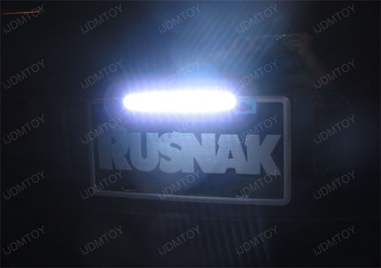 Tiltable LED Reverse or License Plate Lamps