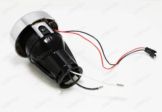 How To Install Ijdmtoy Universal Led Angel Eye Projector