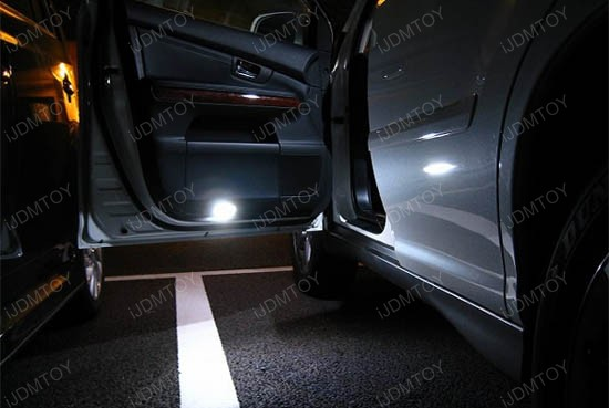 Lexus Toyota Direct Fit LED Door Courtesy Lights & Direct Replacement Lexus IS Toyota 18-SMD LED Courtesy Lights