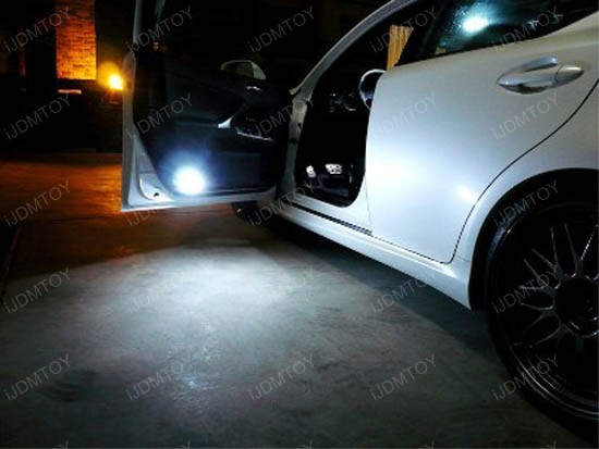 Car Light Bulbs >> Direct Replacement Lexus IS Toyota 18-SMD LED Courtesy Lights