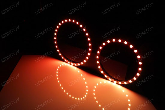 Multi-Color BMW Angel Eyes LED Halo Rings
