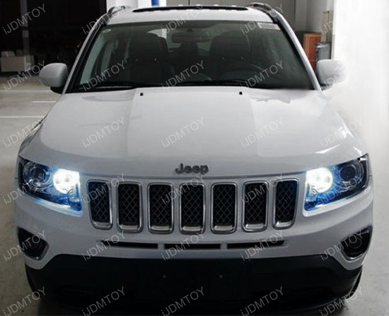 xenon headlights jeep compass. Black Bedroom Furniture Sets. Home Design Ideas