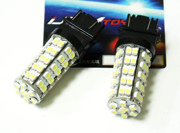 iJDMTOY 3157 LED Bulbs For Turn Signal Lights, Backup Lights