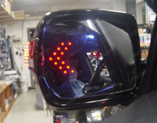 Side Mirror Turrn Signal LED Arrow Lights