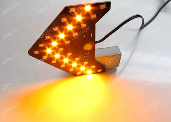 Sequential LED Arrow Turn Signal Light