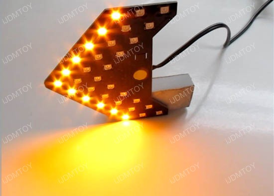 33 Smd Sequential Led Arrow Lights For Side Mirror Turn Signal