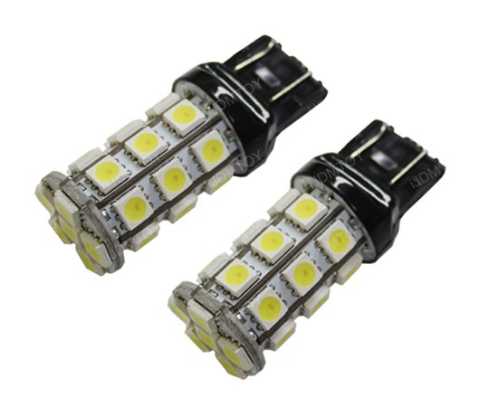 iJDMTOY 27-SMD 4-Emitter Switchback LED Bulbs