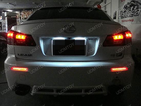 Lexus Toyota LED Bumper Reflector Lights