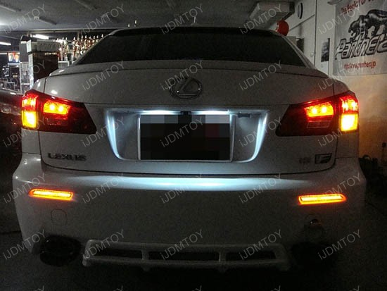 Lexus Rc Is F Gx470 Toyota Sienna Led Bumper Reflector Lights