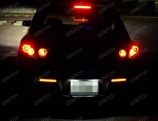 Mazda3 LED Bumper Reflector Lights