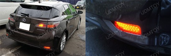 Lexus CT200h Clear Lens LED Reflector Lights