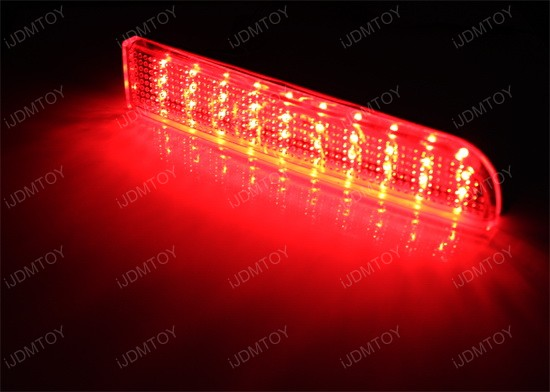 Mitsubishi Lancer or Evolution X LED Bumper Reflectors