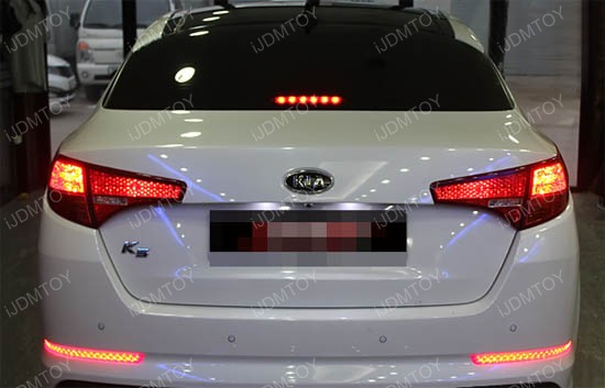 Kia Optima K5 LED bumper reflectors
