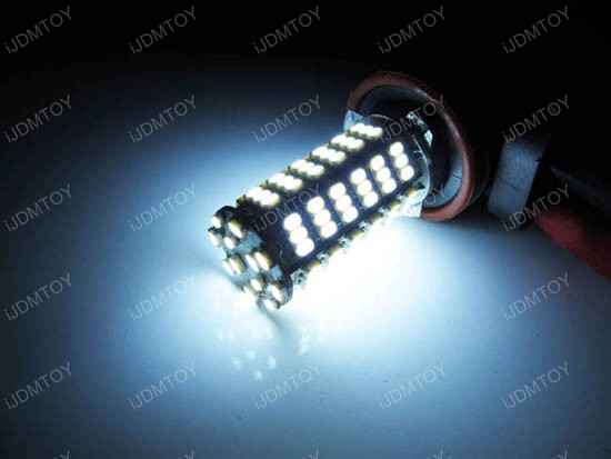 120-SMD H11 LED Fog Light Bulbs