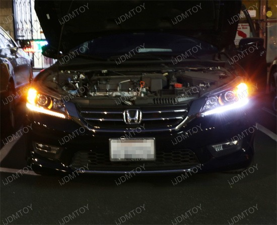 2013 honda accord oem led daytime running light retrofit. Black Bedroom Furniture Sets. Home Design Ideas
