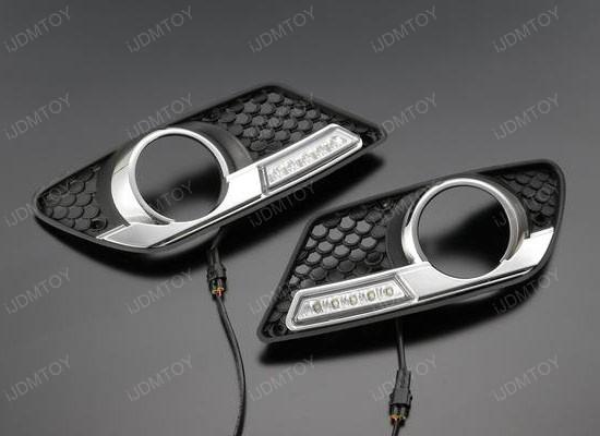 High Power LED Daytime Running Lights For Mercedes W204 C-Class