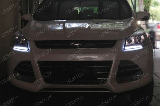 2017 Ford Escape 12w High Led Daytime Running Lights