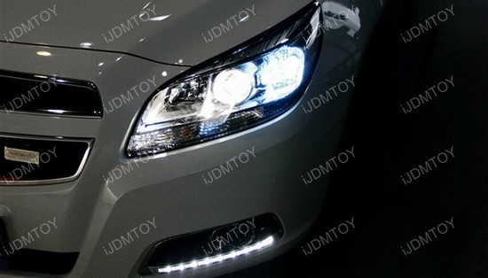 Chevrolet malibu high power led daytime running lights kit high power led daytime running lights for chevy malibu asfbconference2016 Gallery
