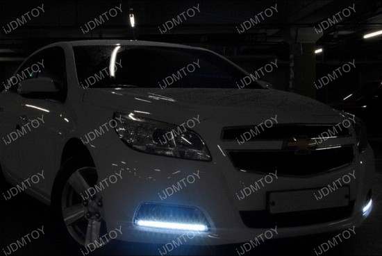 High Power LED Daytime Running Lights For Chevy Malibu