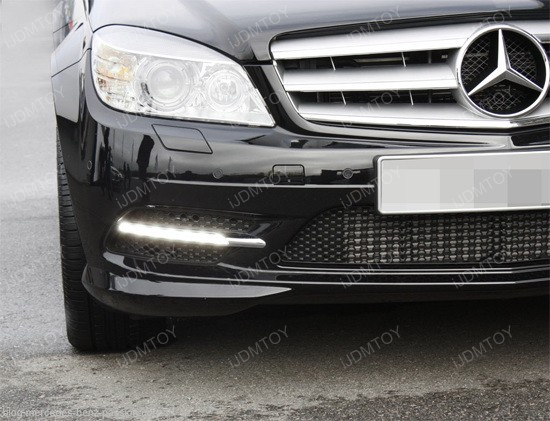 Mercedes Benz W204 OEM LED Daytime Running Lights