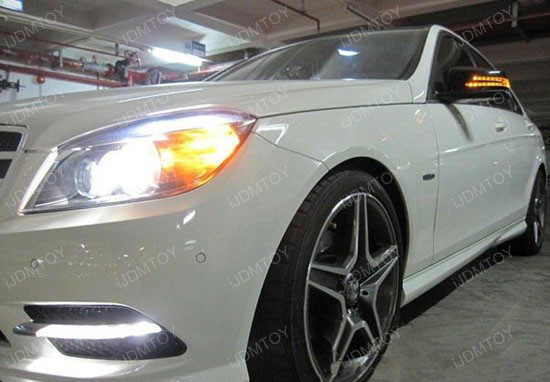 Mercedes Benz W204 OEM LED Daytime Running Lights