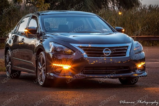 Nissan Altima Switchback Led Daytime Running Lights W