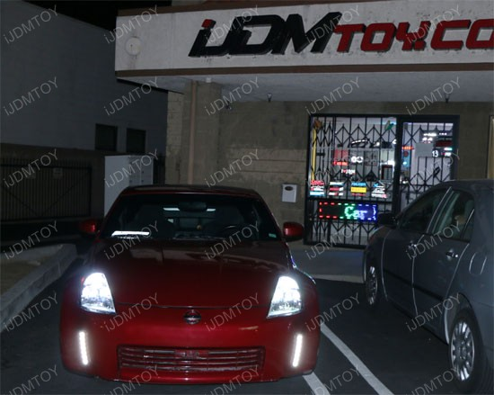 Nissan 350Z LED Daytime Lights 23 clearance 2003 2005 nissan 350z led daytime running lights led  at gsmportal.co