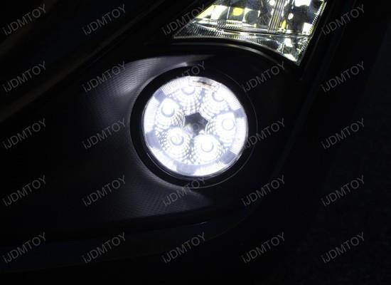 18w High Power Led Fog Lamps For Acura Ford Honda Subaru