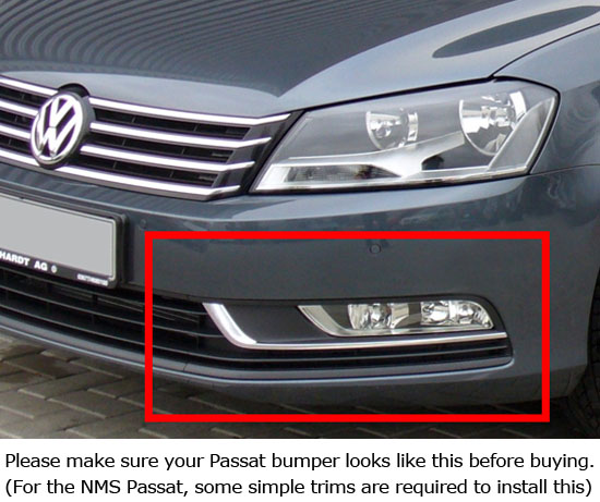 2012-up Volkswagen Passat Direct Fit LED Daytime Running Lights