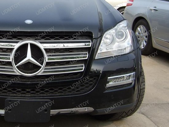 High Led Daytime Running Lights For Mercedes Gl Cl