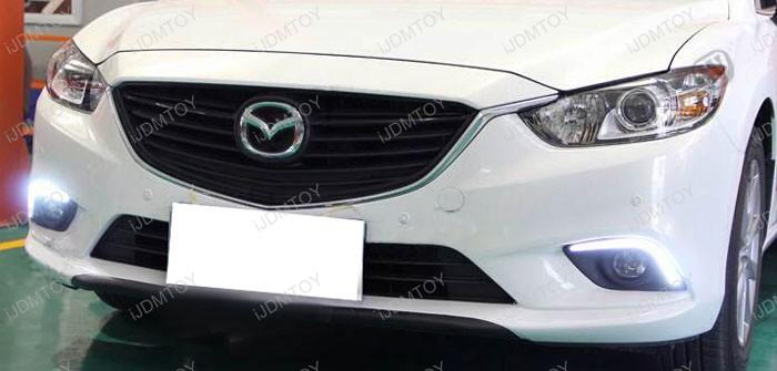 Oem Fit Mazda6 High Power Cree Led Daytime Running Light Kit