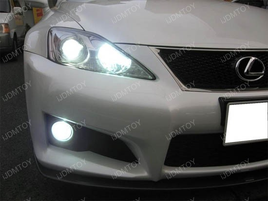 18w High Power Oem Style Fog Lights Assy For Lexus Toyota