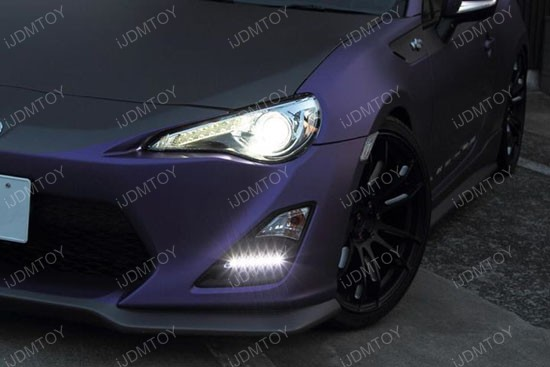 Scion FR-S High Power LED Daytime Running Lights